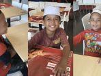 Sosok 3 Bocah Penjual Kerupuk yang Viral Ditraktir Makan di Restoran, Ternyata Sempat Putus Sekolah