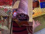 Viral Rumah dengan Perabotan Dibungkus Kertas Kado, Pengunggah Akui Ada Teman yang Heran saat Mampir