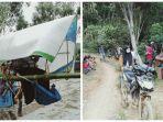 VIRAL Foto Warga di Luwu Utara Ditandu Sejauh 20 Km hanya untuk Berobat ke Puskesmas, Ini Faktanya