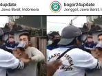 VIRAL Pria di Jonggol Ngamuk Saat Diminta Memakai Masker, Hampir Pukul Petugas yang Menegurnya!
