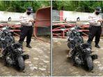 Viral Sepeda Motor Terbakar di SPBU setelah Isi Bensin, Pengendara Sempat Dengar Suara Letupan Kecil