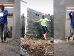 VIRAL Kuli Bangunan Jago Shuffle Dance di TikTok: Banyak Netizen yang Merendahkan Saya