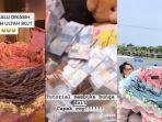 Viral, Wanita Ini Diberi Kado Bucket Uang Rp 80 Juta dari Sang Kekasih, Awalnya Hanya Bercanda