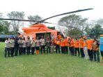 Gunakan Helikopter, Wakapolda Kalsel Sambangi Lokasi Banjir Terisolir