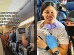 Viral Wanita Melahirkan di Pesawat Menuju Hawaii, Bayi Lahir Ditolong Penumpang dengan Alat Seadanya