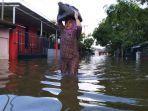 Tak Hanya Pandemi, Warga Samarinda Rayakan Hari Raya Idul Fitri Kebanjiran, Tidur Makan Seadanya