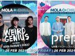 Weird Genius dan Prep Akan Tampil Perdana di Program Terbaru Mola TV