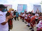 Istri Gubernur Maluku, Widya Murad Ismail Datangi Lokasi Stunting di Pulau Terluar Maluku