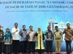 Sahbirin Noor Apresiasi Pelaksanaan Workshop Penerapan Paal 71, UU No 10/ 2016 Gelombang III