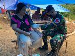 Yonkes TNI AU Berikan Layanan Kesehatan kepada Korban Gempa Sulbar