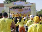 Zumba Sesi Pertama Bakar Semangat Peserta Tropicana Slim World Diabetes Day 2019