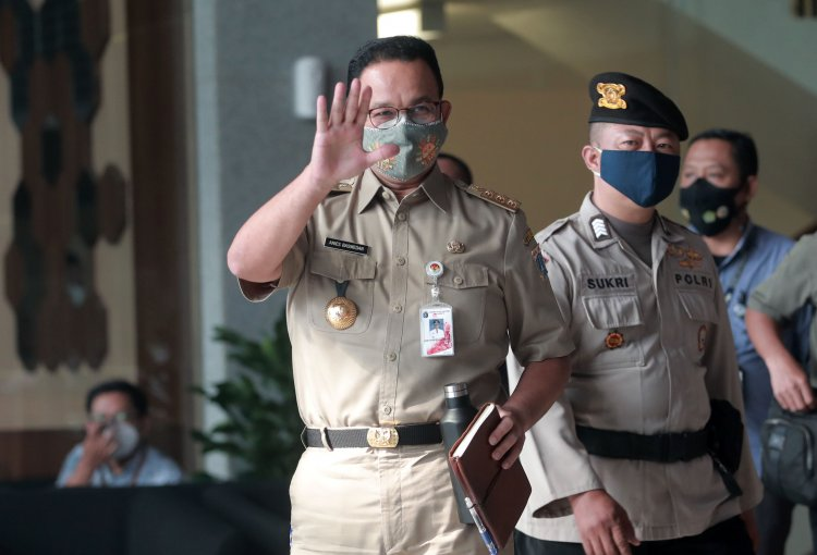 Anies Baswedan Usai Diperiksa KPK Selama 5 Jam