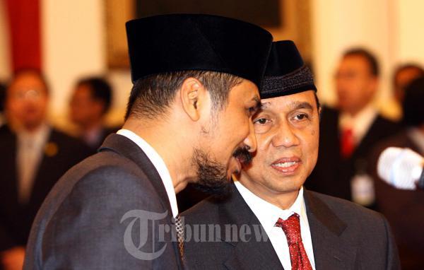 Pimpinan KPK Berbincang Sebelum Pelantikan