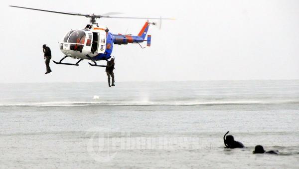 Polda Kaltim Sergap Teroris Dipingir Pantai