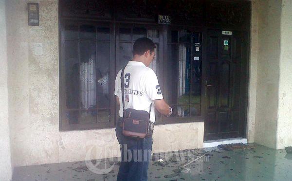 Kaca Rumah Calon Pengurus FPI Kalteng Pecah