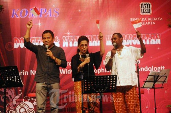 Lagu Berjudul Pancasila Rumah Kita Dinyanyikan di Dongeng dan Ny