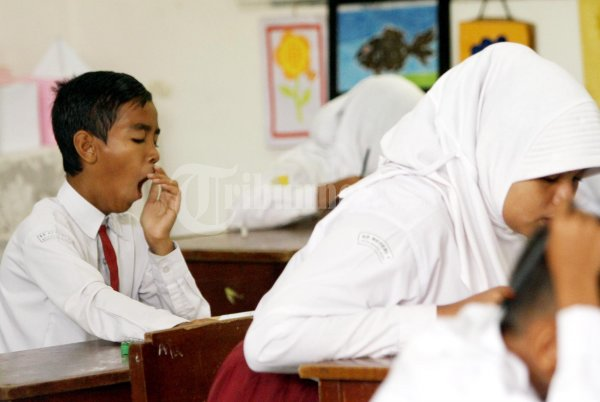Ujian Nasional Sd 1 Banda Aceh Foto 3 55252 Tribunnews Com Mobile
