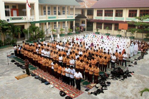 Murid Mtsn 1 Model Banda Aceh Tribunnews Com