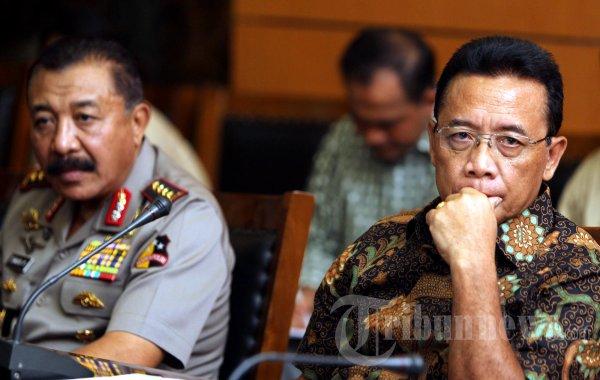 Djoko Suyanto dan Timur Pradopo