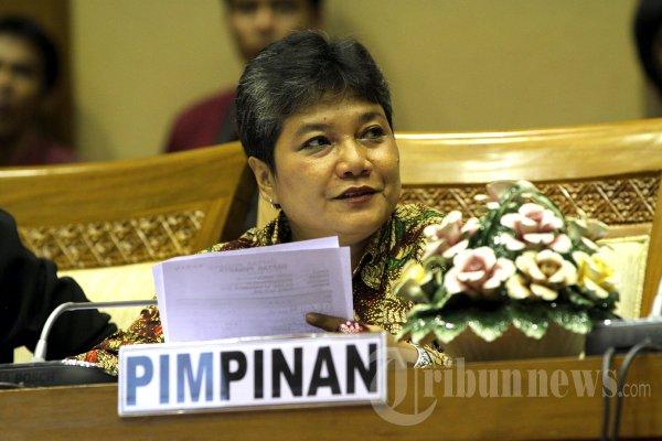 Anggota DPR RI dari fraksi PDIP, Ribka Tjiptaning