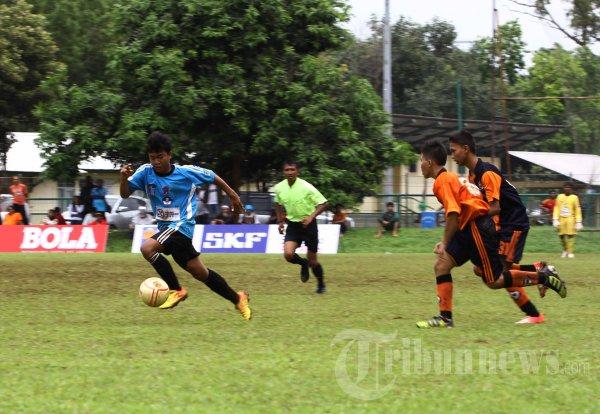 Pertandingan Liga Kompas Gramedia U-14