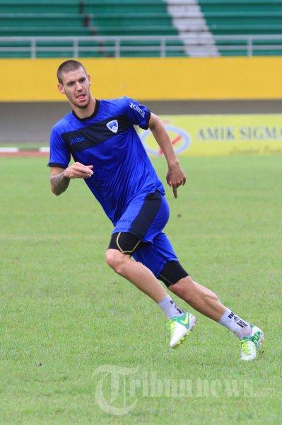 Dane Milovanovic Pemain Pelita Bandung Raya