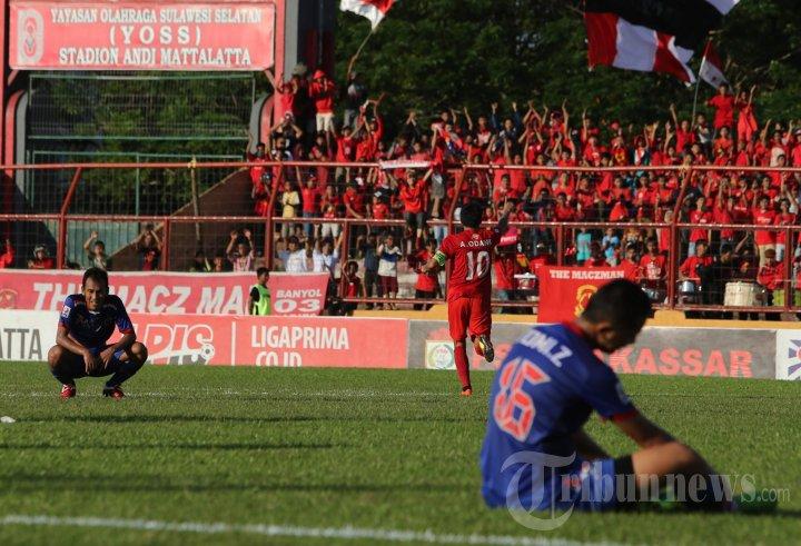 PSM Makassar Kalahkan Arema FC