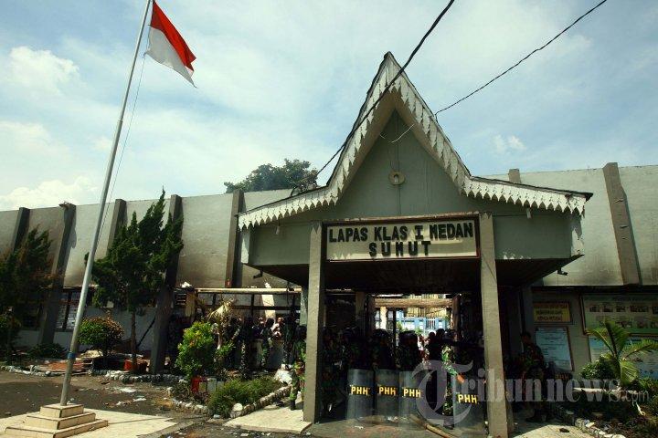Pascakerusuhan di Lapas Tanjung Gusta Medan