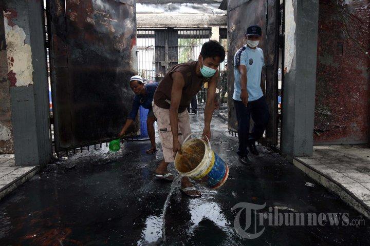Perbaikan Lapas Tanjung Gusta