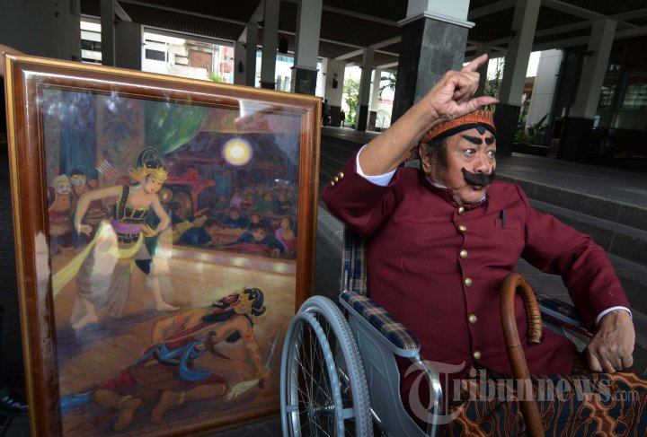 Pak Raden Jual Lukisan ke Jokowi