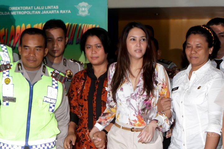 Maia Estianty Diperiksa di Ditlantas Polda Metro Jaya