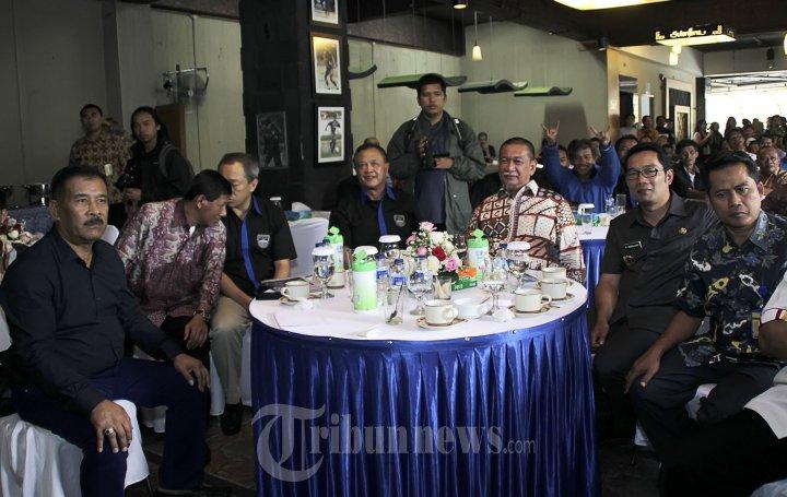 Deddy Mizwar dan Ridwan Kamil Ramah Tamah