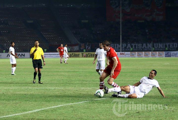 Legendaris Manchester United vs Indonesia Red