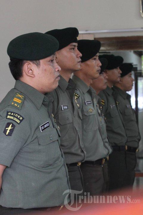 Tuntutan Enam Anggota Batalyon Infantri 400 Raiders