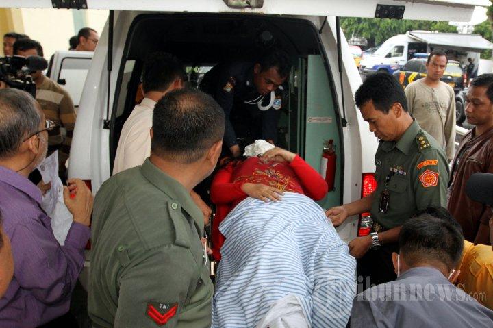 Korban Kecelakaan Tabrakan Kereta KRL dengan Truk BBM