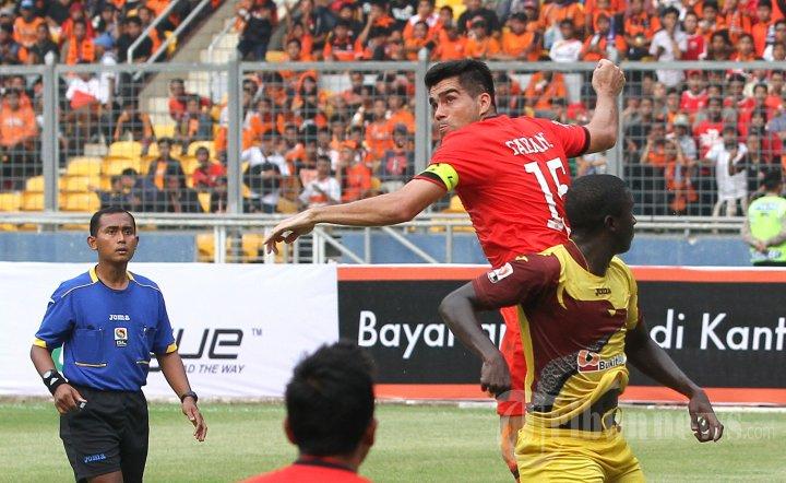 Persija vs Sriwijaya FC Laga ISL