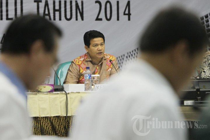 KPU Tetapkan Perolehan Kursi Anggota DPR dan DPD