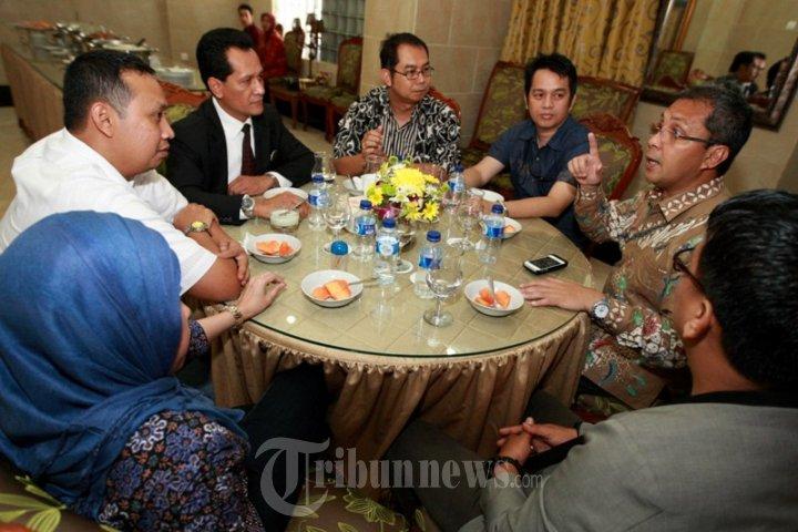 Sejumlah Pimpinan KG Group Kunjungi Walikota Makassar