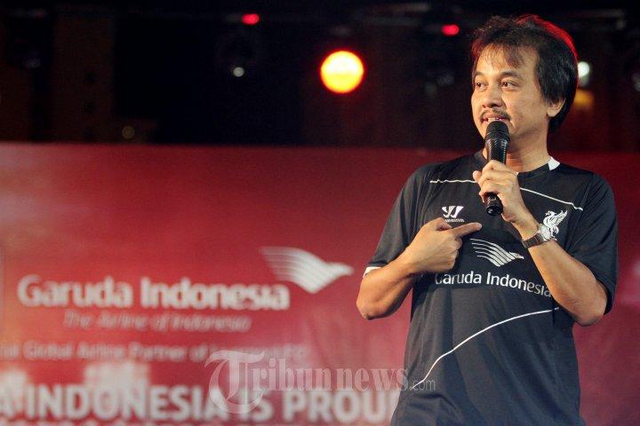 Peresmian Training Kit Liverpool Berlogo Garuda Indonesia