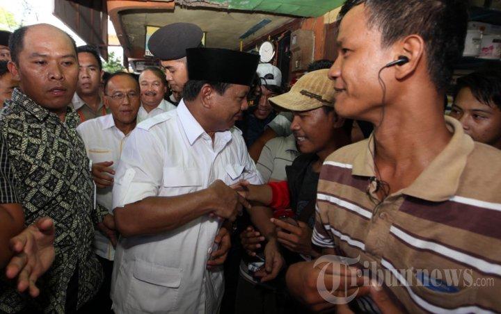 Prabowo Kampanye di Palembang