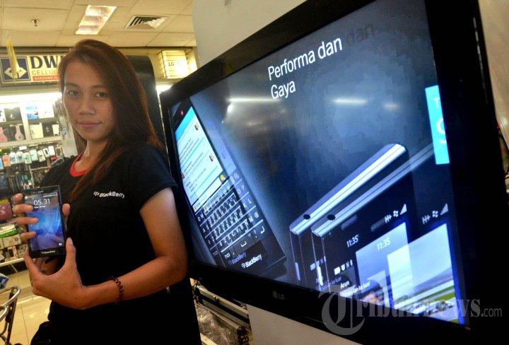 Indosat BlackBerry Z3