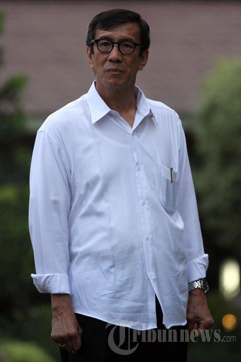 Yasonna Hamonangan Laoly - MENHUKHAM