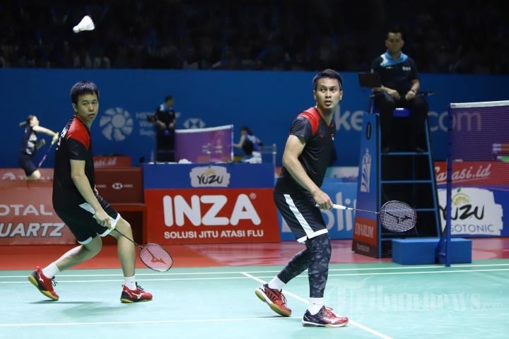 Ahsan/Hendra Melaju ke Semifinal Indonesia Open 2019