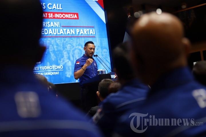 AHY Bertemu Pimpinan DPD Partai Demokrat Se-Indonesia