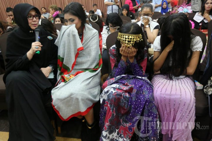 Ajang Pencarian Bakat Modeling Digerebek di Banda Aceh