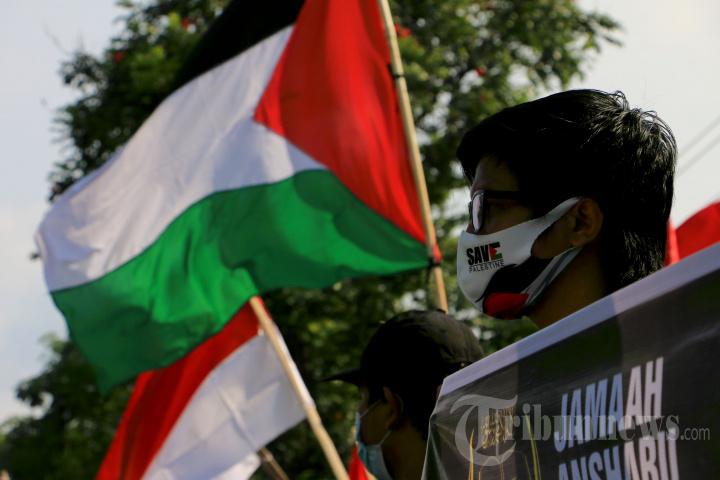 Aksi Solidaritas Semarang Bela Palestina