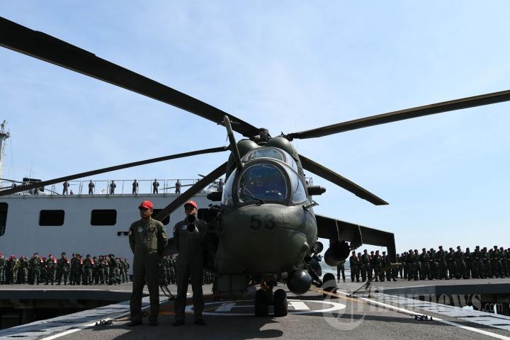 Apel Gelar Pasukan Latgab TNI