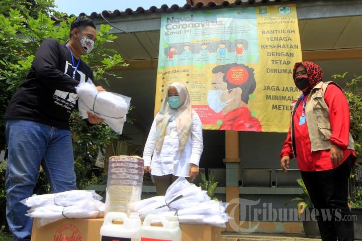 Baguna PDIP Gotong Royong Cegah Covid-19