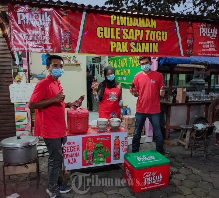 Bangkitkan UMKM Pilihan MGDALENAF Bersama Teh Pucuk Harum