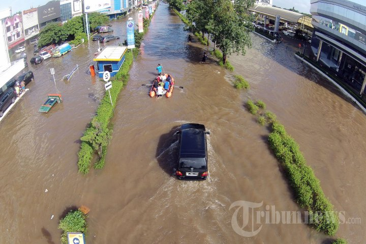 Banjir di Kelapa Gading